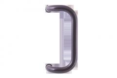Stoßgriff für eine Haustür M2 (braun)