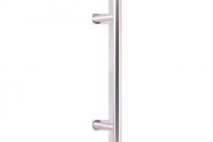 Stoßgriff für eine Haustür P45 (Edelstahl)